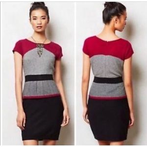 Sparrow by Anthropologie sweater shift dress M